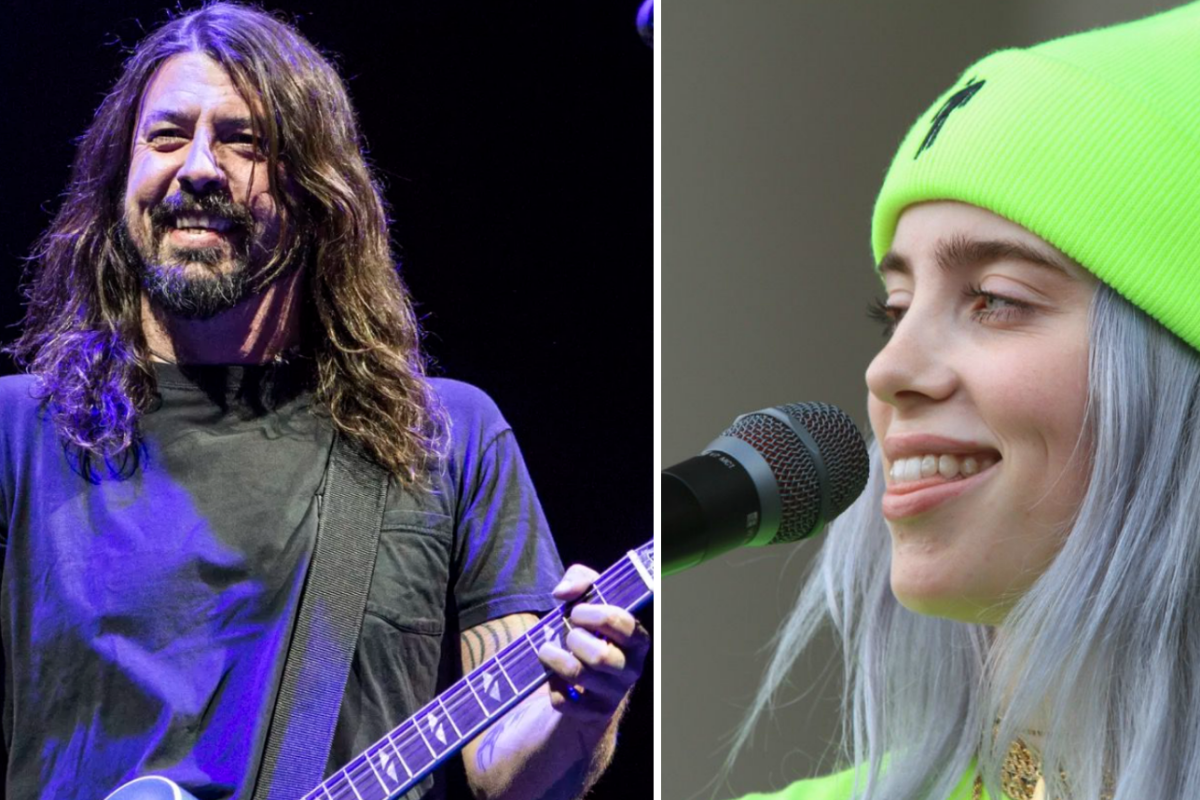 Dave Grohl over Billie Eilish
