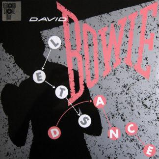David Bowie – Lets Dance Demo LP Cover