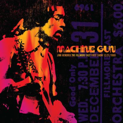 Jimi Hendrix – Machine Gun The Fillmore East First Show LP Cover