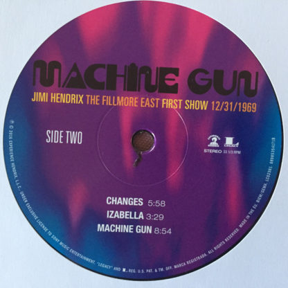 Jimi Hendrix – Machine Gun The Fillmore East First Show Side 2
