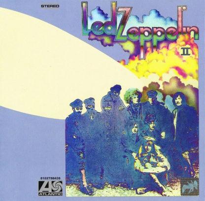 Led Zeppelin II LP Back Cover