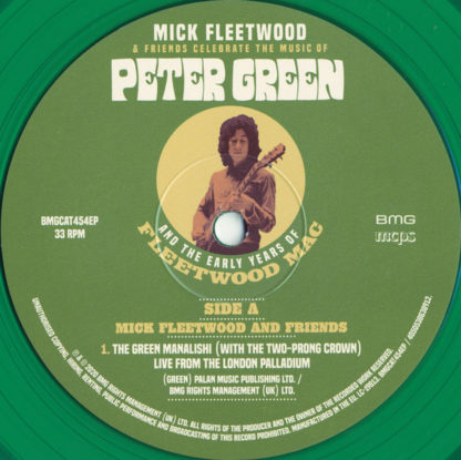 Mick Fleetwood – Mick Fleetwood Friends Celebrate The Music Of Peter Green And The Early Years Of Fleetwood Mac LP Coloured Vinyl