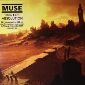 Muse – Sing For Absolution CD Cover