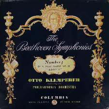 Otto Klemperer Beethoven Philharmonia Orchestra – Symphony No. 3 In E Flat Major Op. 55 Eroica LP