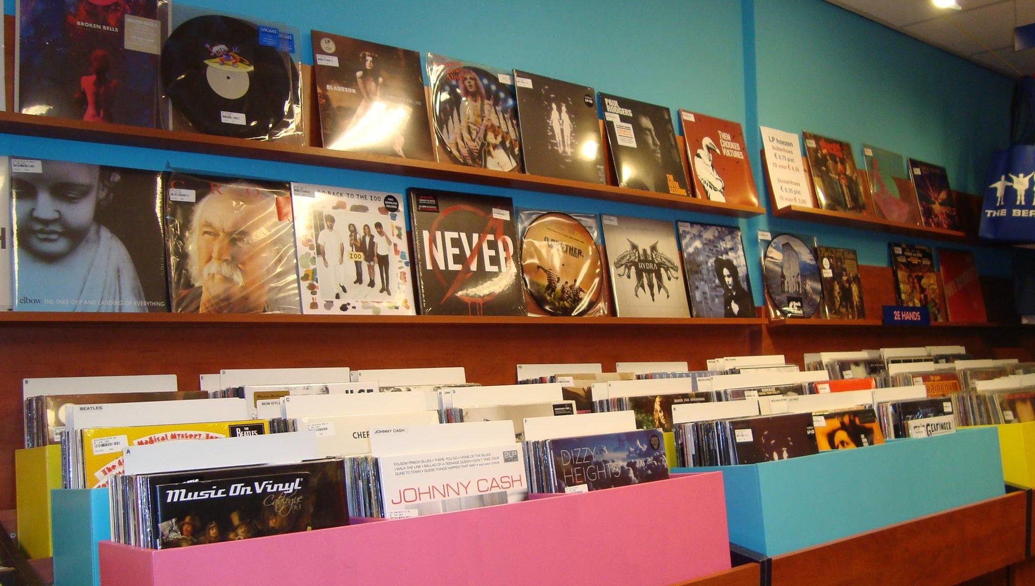 Pop Eye Velvet Music Alkmaar In Store
