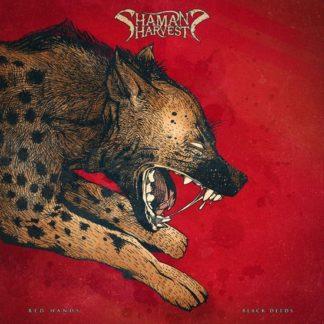 Shamans Harvest Red Hands Coloured Vinyl LP