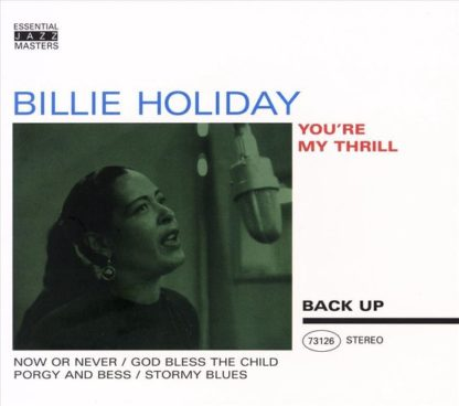 Billie Holiday YouRe My Thrill CD
