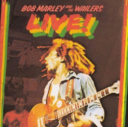 Bob The Wailers Marley Live CD