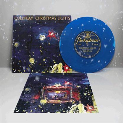 Coldplay Christmas Lights Coloured Vinyl