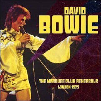 David Bowie Marquee Club Rehearsals London 1973 CD 4755581300129