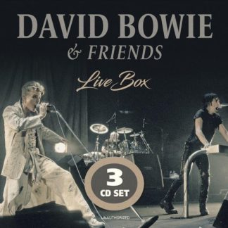 David Bowie and Friends Live Box 6483817110218 CD