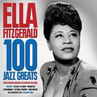 Ella Fitzgerald 100 Jazz Greats CD