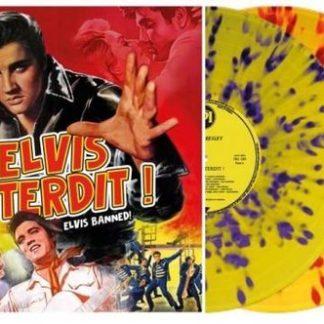 Elvis Presley Elvis Interdit Glow in the Dark Blue Red Vinyl RSD 2020