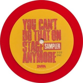 Frank Zappa You CanT Do That On Stage Anymore LP