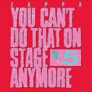 Frank Zappa You Cant Do That Vol. 5 CD