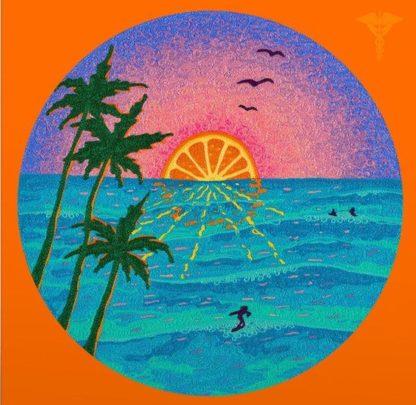 Jazz Dispensary Orange Sunset Yellow Starburst Vinyl Black Friday 2020 LP