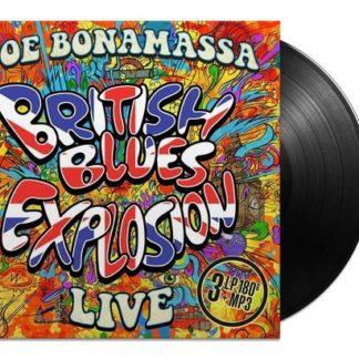 Joe Bonamassa British Blues Explosion Live LP
