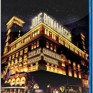 Joe Bonamassa Live At Carnegie Hall Blu ray