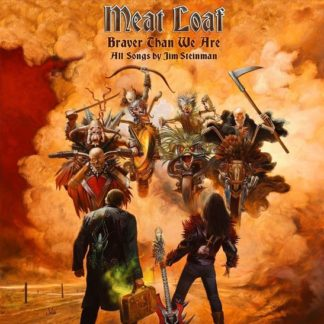 Meat Loaf Braver Than We Are CD 0795041612724