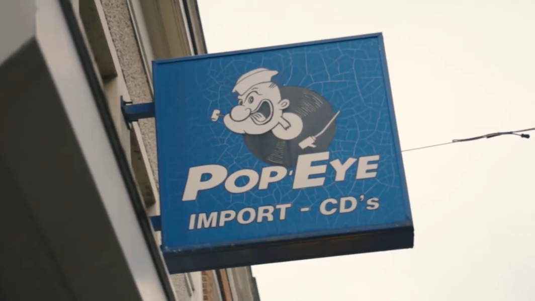 Pop Eye Velvet Music Boterstraat 10 in Alkmaar Buitenbord