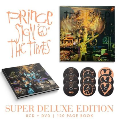 Prince Sign O The Times Super Deluxe Edition 8CDDVD