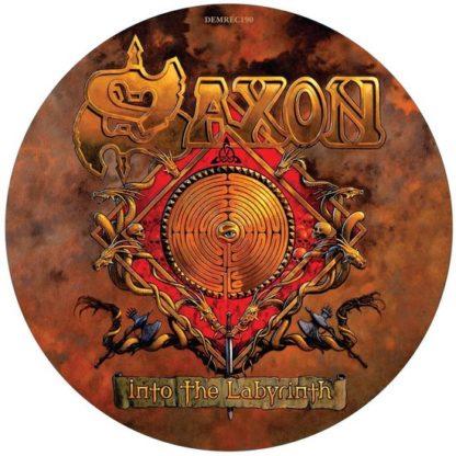 Saxon Into The Labyrinth LP