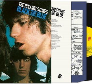 The Rolling Stones Black And Blue Half Speed New Art LP