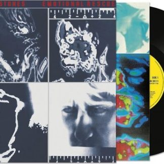 The Rolling Stones Emotional Rescue Half Speed New Art LP