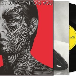 The Rollling Stones Tattoo You Half Speed New Art LP