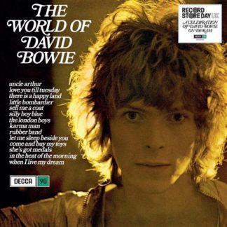 World of David Bowie LP 0602577246708