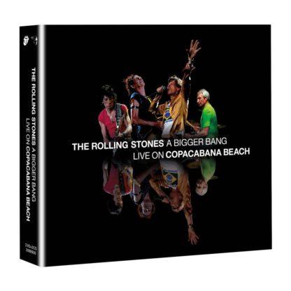 The Rolling Stones - A Bigger Bang - Live On Copacabana Beach (DVD + 2CD)